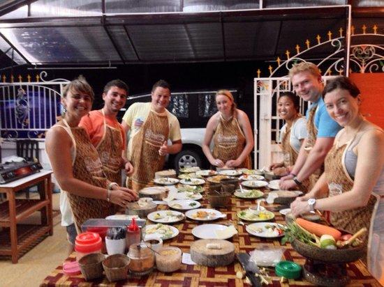 Smart Cook Thai Cookery School: Dinner class - 28/11/2013