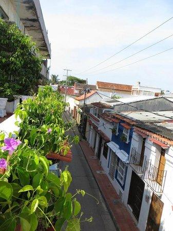 Hotel Villa Colonial: Aussicht von der Dachterrasse