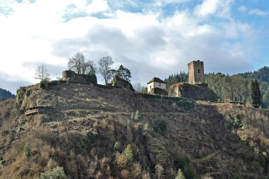 Schloss Hornberg: sul colle