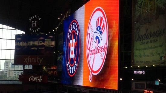 Minute Maid Park: Yankees