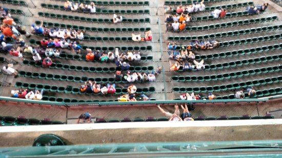 Minute Maid Park: View down!