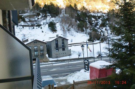 Hotel Sant Miquel: vista desde la habitacion del hotel