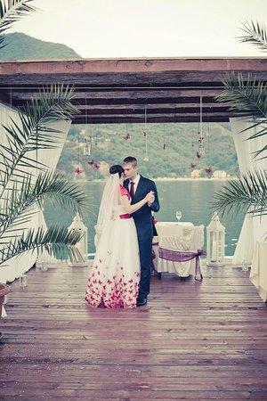 Casa del Mare: intimate beach wedding