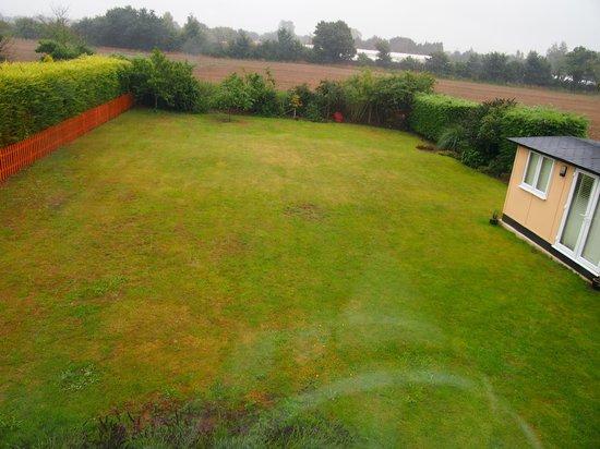 Blenheim Edge: Back garden