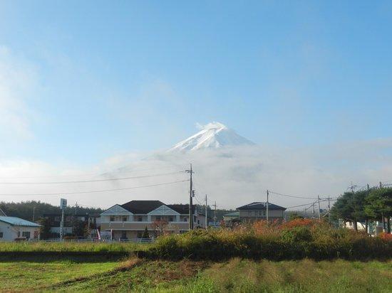 Kawaguchi lake business & resort Sawa Hotel: Mt.fuji