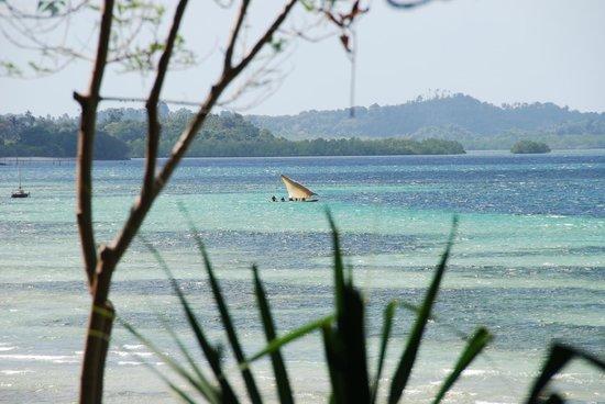 Fundu Lagoon: View from restaurant