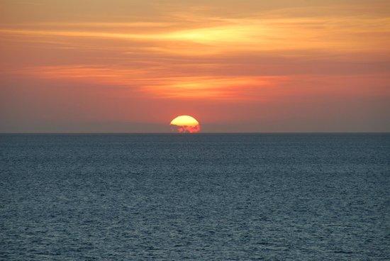 Fundu Lagoon: Sun set