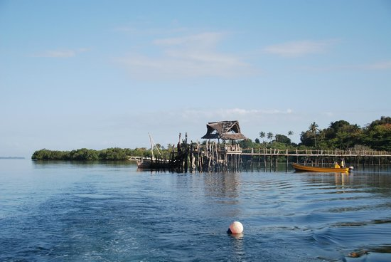 Fundu Lagoon: Jetty