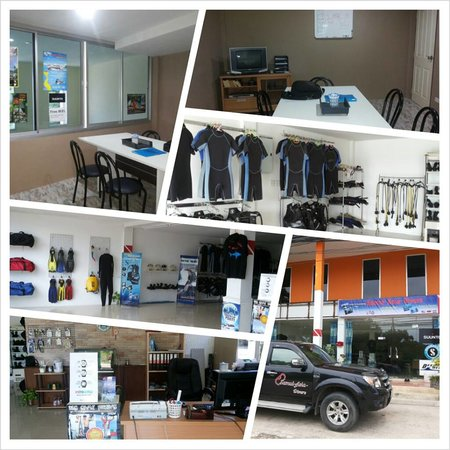 Samui Asia Divers : Shop