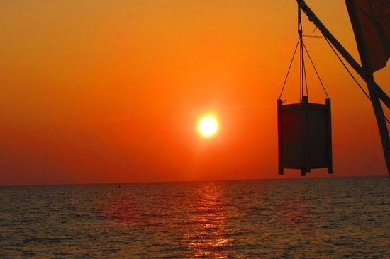 Coco Lanta Resort : coucher de soleil