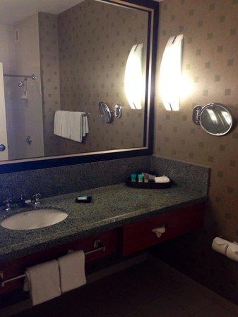 Hyatt Regency Pittsburgh International Airport: Room 1126 bathroom