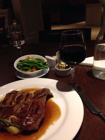 Clayton Hotel Leopardstown: Delicious meal in the brasserie