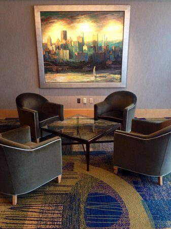 Hyatt Regency Pittsburgh International Airport: Seating area near conference rooms