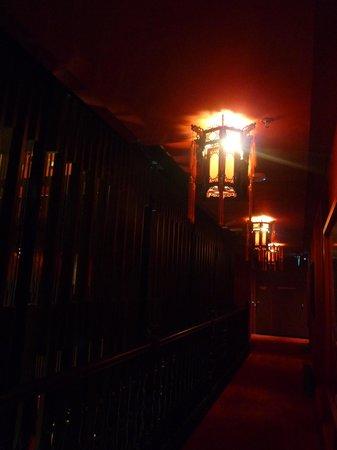 Santa Grand Hotel Lai Chun Yuen: ホテルの廊下