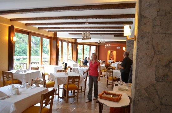 SUMAQ Machu Picchu Hotel: en el desayunador y comedor