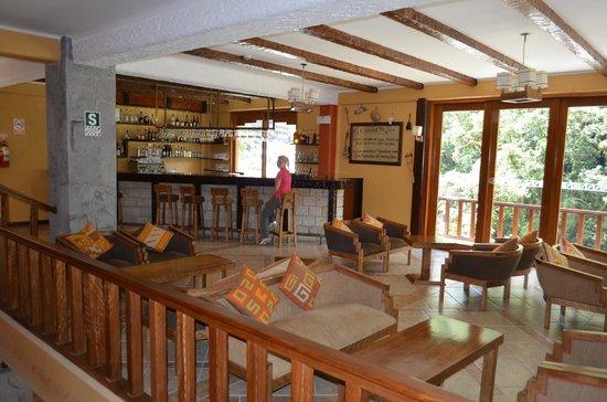 SUMAQ Machu Picchu Hotel: desde el bar que sirven unos ricos tragos