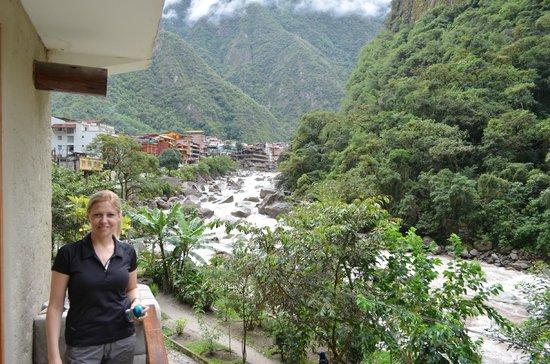SUMAQ Machu Picchu Hotel: vista desde el balcon