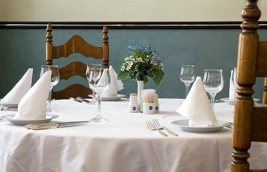 Hotel Slovan: Restaurant Bugatti