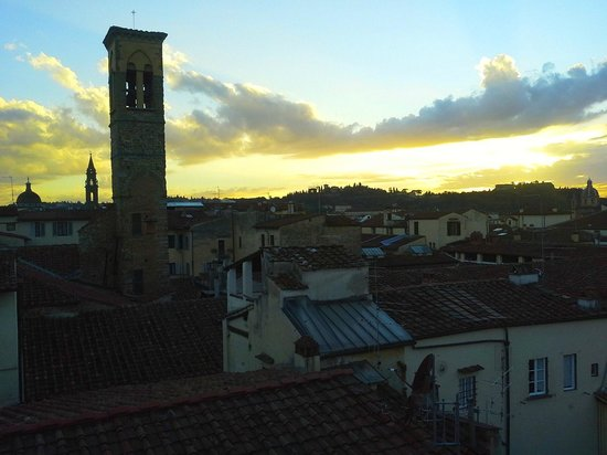 Hotel Tornabuoni Beacci : A view from the rooftop