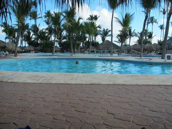 Iberostar Dominicana Hotel: een klein stukje zwembad altijd proper