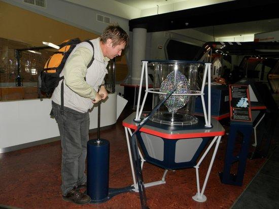 Moscow Planetarium: Эксперимент