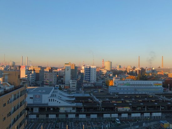 Hotel Soga International: 朝の景色