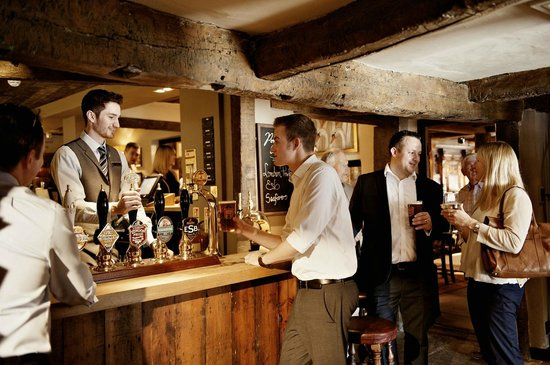 White Swan Hotel: Cask conditioned ales and a great drinks selection