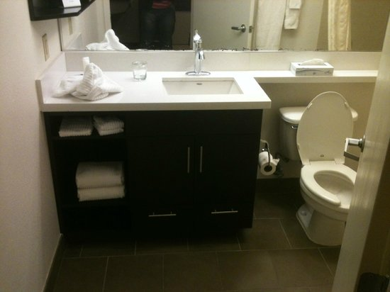 Candlewood Suites Jersey City : Banheiro bom
