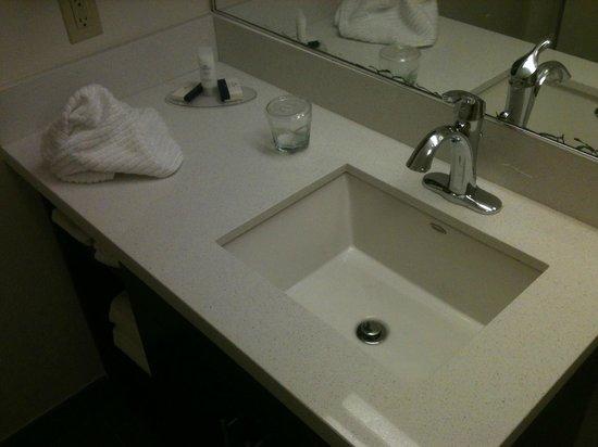 Candlewood Suites Jersey City : Banheiro limpo e novo