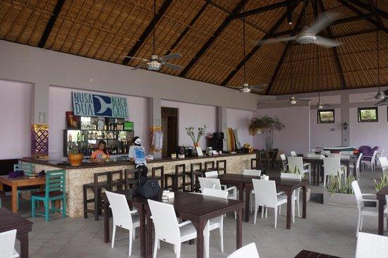 Nusa Dua Beach Grill : Bar