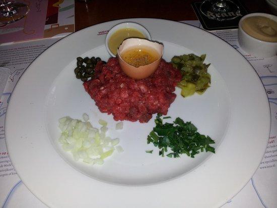 Hotel New York: Degelijke Steak Tartare