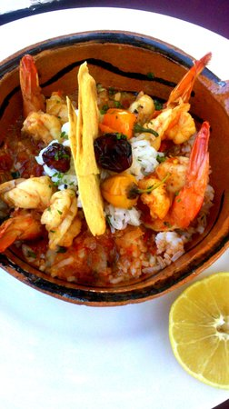 Nivel Mar Beach Club & Restaurant: Mommas Shrimp. Third Place at the Food&Film Fest 2013