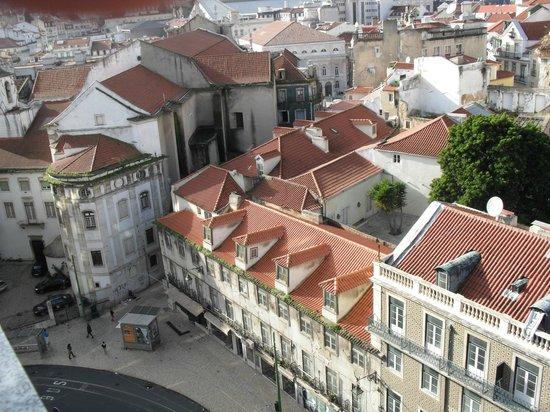 Hotel Mundial: Vista do terraço