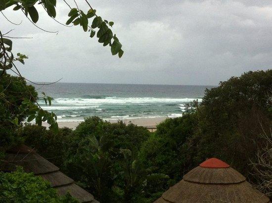 Thonga Beach Lodge : room with a view... :)