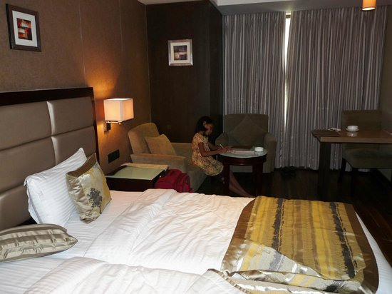 Krios Hotel: Deluxe room at Krios