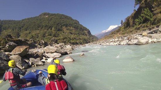 Paddle Nepal - Day Tours: upper seti river rafting