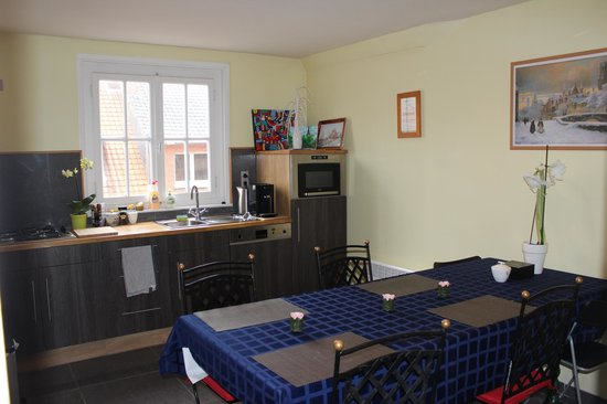Bed and Breakfast Het Consulaat: Fully equipped kitchen