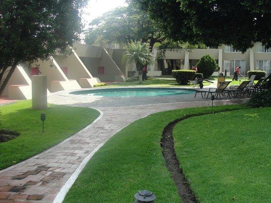 Camino Real Guadalajara: vista a caminho dos quartos