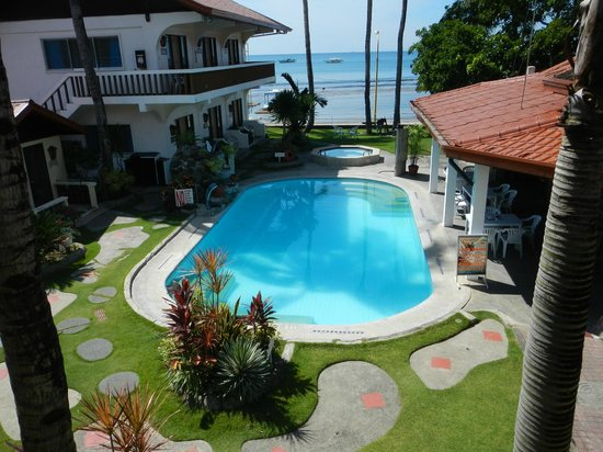 Coral Beach Club: View from second floor