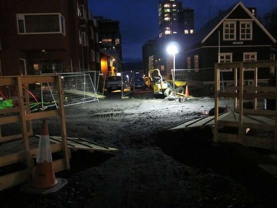 Reykjavik Residence Hotel : construction outside