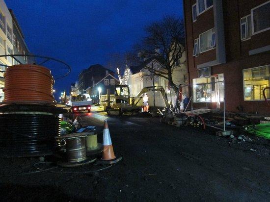 Reykjavik Residence Hotel: construction outside