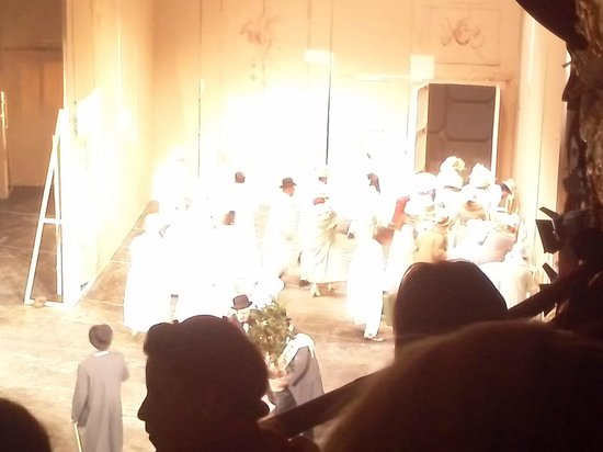 Teatrul National Vasile Alecsandri: The scene