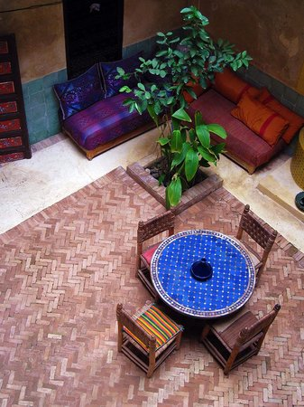Riad Bounaga: The interior