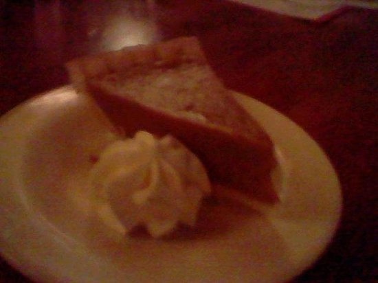 The Cottage Bar and Gulfshore Grill: Thanksgiving Pumpkin Pie