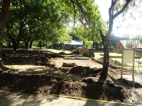 Ruins of Leon Viejo: new excavation at Leon Viejo.