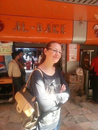 Al-Bake: Devant l'un des restaurants Al Bake à New Friends Colony