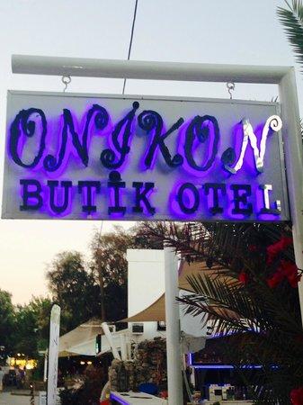 Onikon Butik Hotel: Otel Giriş