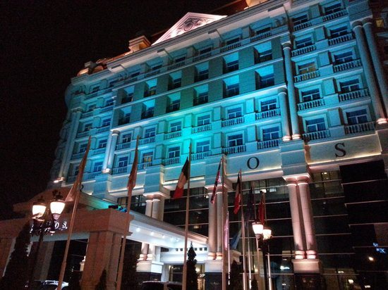 Rixos Almaty : Outside at night