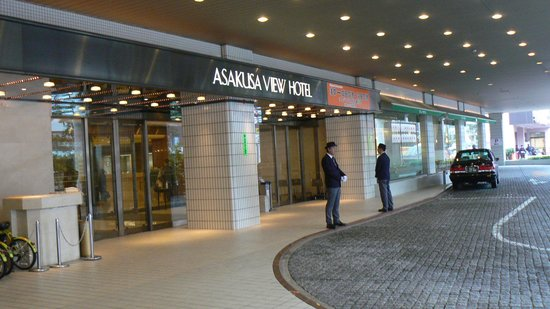 Asakusa View Hotel: 外観2