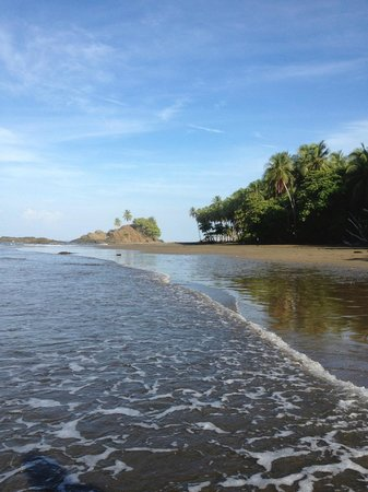 Costa Paraiso: View from Nearby Sand Beach I